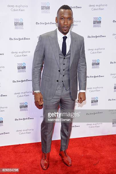 Actor Mahershala Ali attends IFP's 26th Annual Gotham Independent Film Awards at Cipriani, Wall Street on November 28, 2016 in New York City.