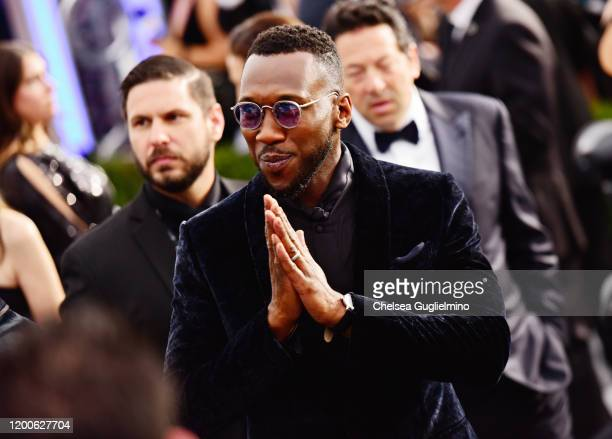 Actor Mahershala Ali attends the 26th annual Screen Actors Guild Awards at The Shrine Auditorium on January 19 2020 in Los Angeles California