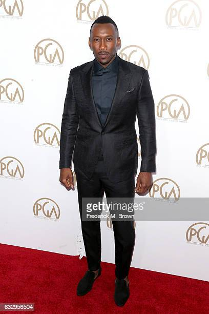 Actor Mahershala Ali attends the 28th Annual Producers Guild Awards at The Beverly Hilton Hotel on January 28 2017 in Beverly Hills California