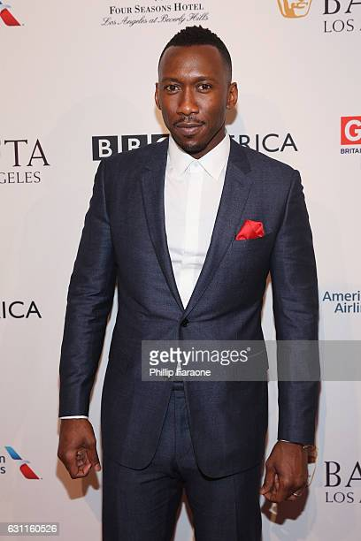 Actor Mahershala Ali attends The BAFTA Tea Party at Four Seasons Hotel Los Angeles at Beverly Hills on January 7, 2017 in Los Angeles, California.