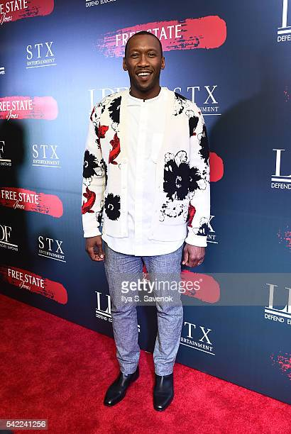 Actor Mahershala Ali attends the Free State Of Jones New York Premiere at Paris Theater on June 22 2016 in New York City