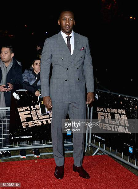Actor Mahershala Ali attends the 'Moonlight' Official Competition screening during the 60th BFI London Film Festival at Embankment Garden Cinema on...
