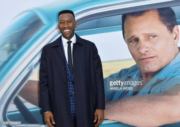 Actor Mahershala Ali attends the Premiere of 'Green Book' at The Paris Theatre on November 13 2018 in New York City