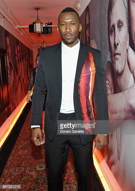 Actor Mahershala Ali attends W Magazine Celebrates the Best Performances Portfolio and the Golden Globes with Audi and Moet Chandon at Chateau...