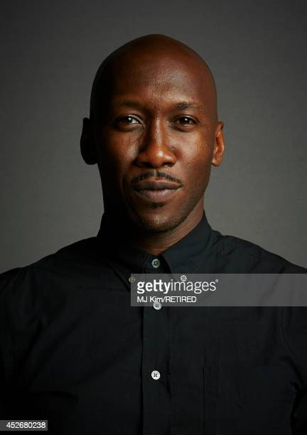 Actor Mahershala Ali poses for a portrait at the Getty Images Portrait Studio powered by Samsung Galaxy at ComicCon International 2014 at Hard Rock...
