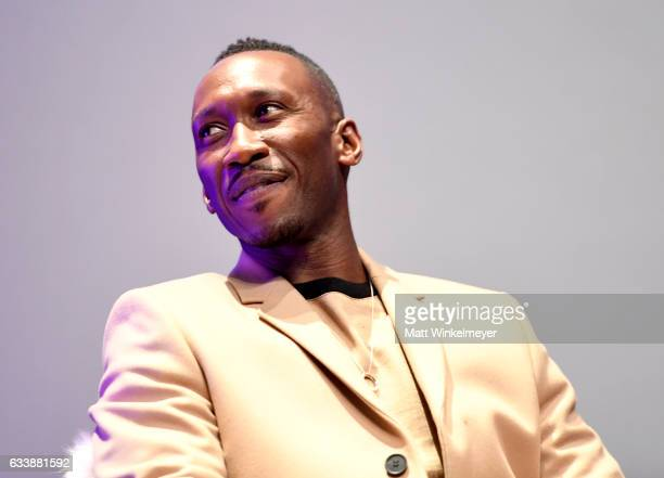 Actor Mahershala Ali speaks onstage at the Virtuosos Award presented by UGG during the 32nd Santa Barbara International Film Festival at the...