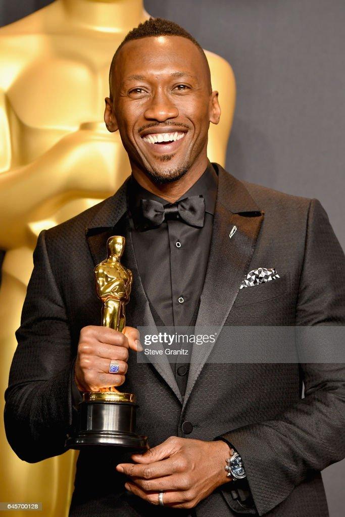 89th Annual Academy Awards - Press Room : ニュース写真