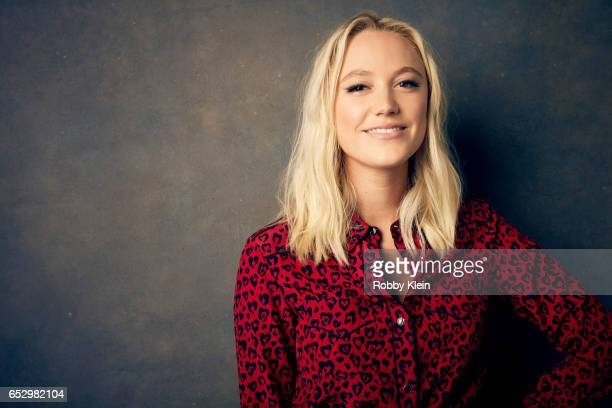 Actor Maika Monroe of 'Hot Summer Nights' poses for a portrait at The Wrap and Getty Images SxSW Portrait Studio on March 11 2017 in Austin Texas