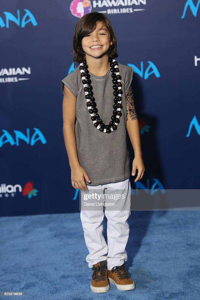 Actor Malachi Banton arrives at the AFI FEST 2016 presented by Audi premiere of Disney's 'Moana' held at the El Capitan Theatre on November 14, 2016 in Hollywood, California.