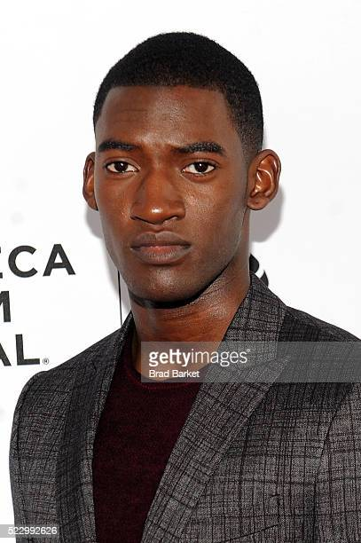 Actor Malachi Kirby attends the 'Roots' Screening At Tribeca Film Festival on April 21 2016 in New York City