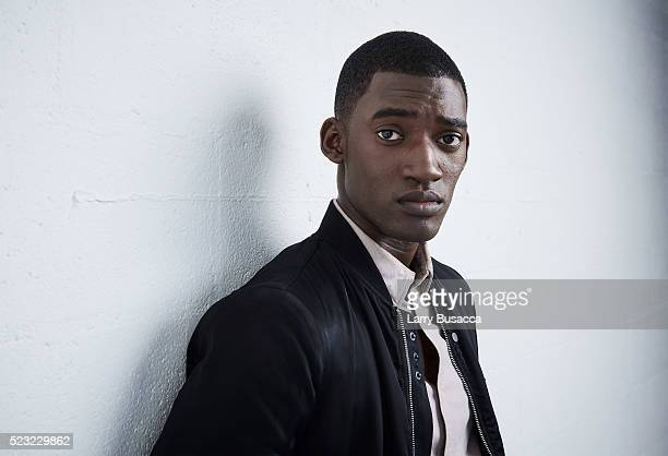 Actor Malachi Kirby from Roots poses at the Tribeca Film Festival Getty Images Studio on April 21 2016 in New York City