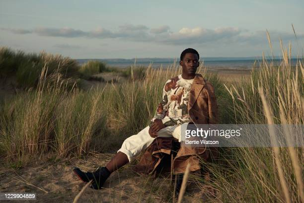 Actor Malachi Kirby is photographed on September 12, 2020 in Dungeness, England.