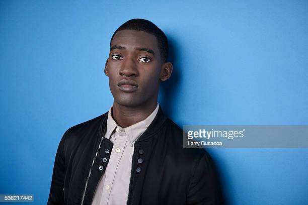 Actor Malachi Kirby poses for a portrait at the Tribeca Film Festival on April 20 2016 in New York City