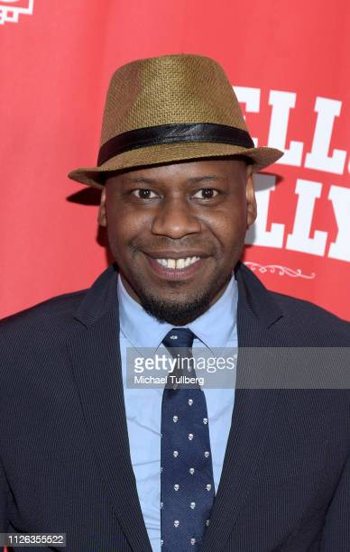 Actor Malcolm Barrett attend the Los Angeles premiere of the musical 'Hello Dolly' at the Pantages Theatre on January 30 2019 in Hollywood California