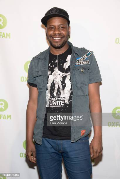 Actor Malcolm Barrett attends Comedy Not Conflict at The Viper Room on April 2 2017 in West Hollywood California