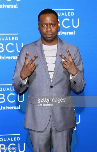 Actor Malcolm Barrett attends the 2017 NBCUniversal Upfront at Radio City Music Hall on May 15 2017 in New York City