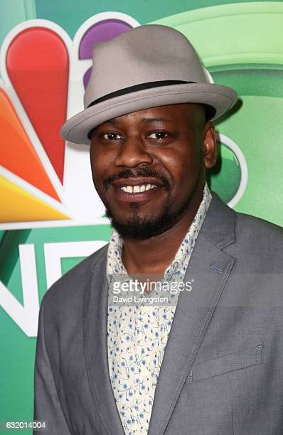 Actor Malcolm Barrett attends the 2017 NBCUniversal Winter Press Tour Day 2 at the Langham Hotel on January 18 2017 in Pasadena California