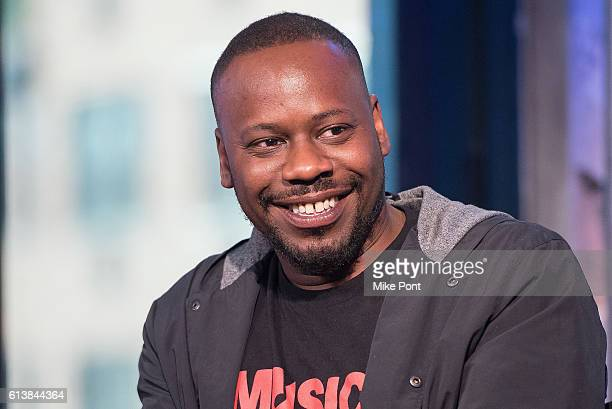 Actor Malcolm Barrett attends the Build Series to discuss 'Timeless' at AOL HQ on October 10 2016 in New York City