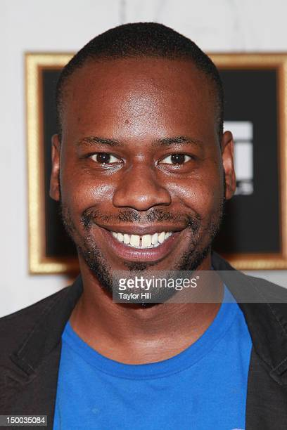 Actor Malcolm Barrett attends the 'Missed Connections' screening during the 2012 GenArt Film Festival opening night at the School of Visual Arts...