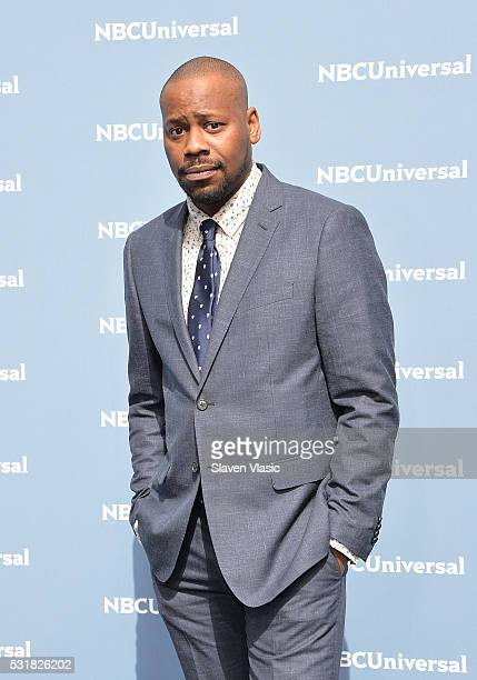 Actor Malcolm Barrett attends the NBCUniversal 2016 Upfront Presentation on May 16 2016 in New York New York