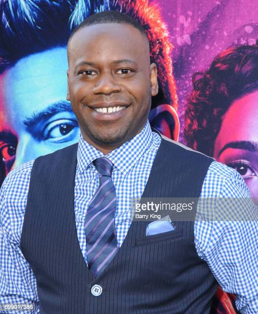 Actor Malcolm Barrett attends the Premiere of AMC's 'Preacher' Season 2 at The Theatre at Ace Hotel on June 20 2017 in Los Angeles California