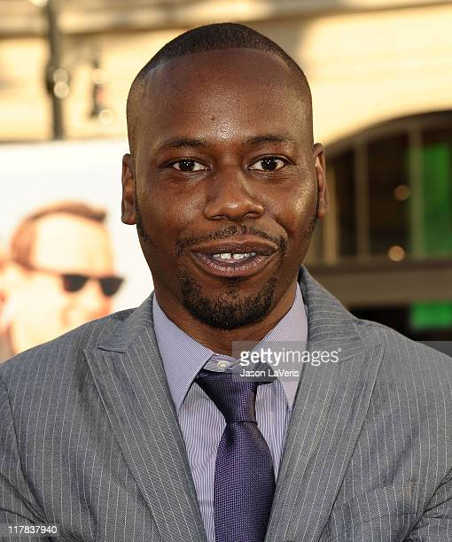 Actor Malcolm Barrett attends the premiere of 'Larry Crowne' at Grauman's Chinese Theatre on June 27 2011 in Hollywood California
