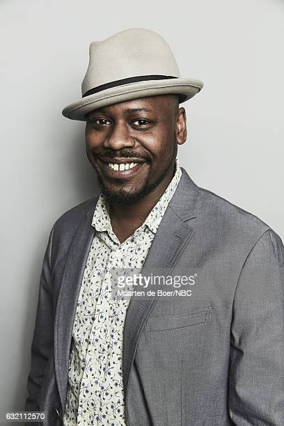 Actor Malcolm Barrett of 'Timeless' poses for a portrait in the NBCUniversal Press Tour portrait studio at The Langham Huntington Pasadena on January...