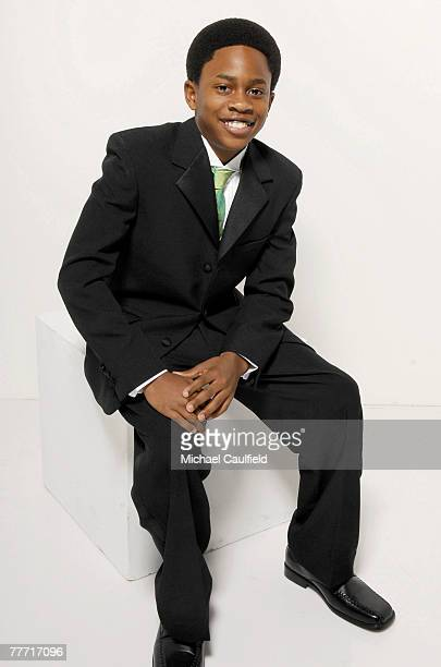 Actor Malcolm David Kelley is photographed at the 37th Annual NAACP Image Awards on February 25 2005 at the Shrine Auditorium in Los Angeles...