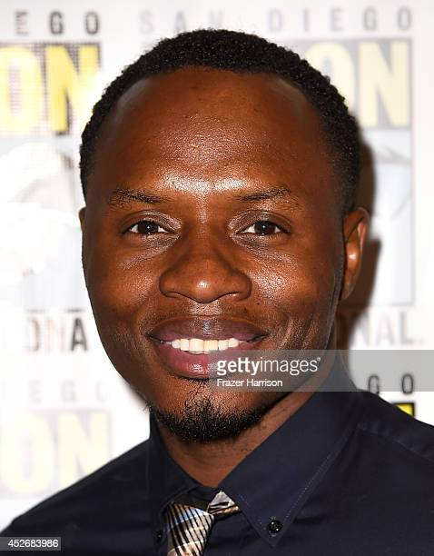 Actor Malcolm Goodwin attends the 'iZombie' press line during ComicCon International 2014 at Hilton Bayfront on July 25 2014 in San Diego California