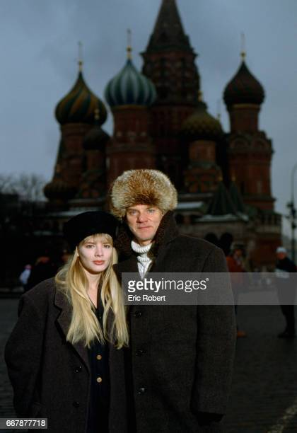 Actor Malcolm McDowell and girlfriend Kelley Kuhr stay in Moscow while McDowell films Tsareubijtsa, or The Assassin of the Tsar.