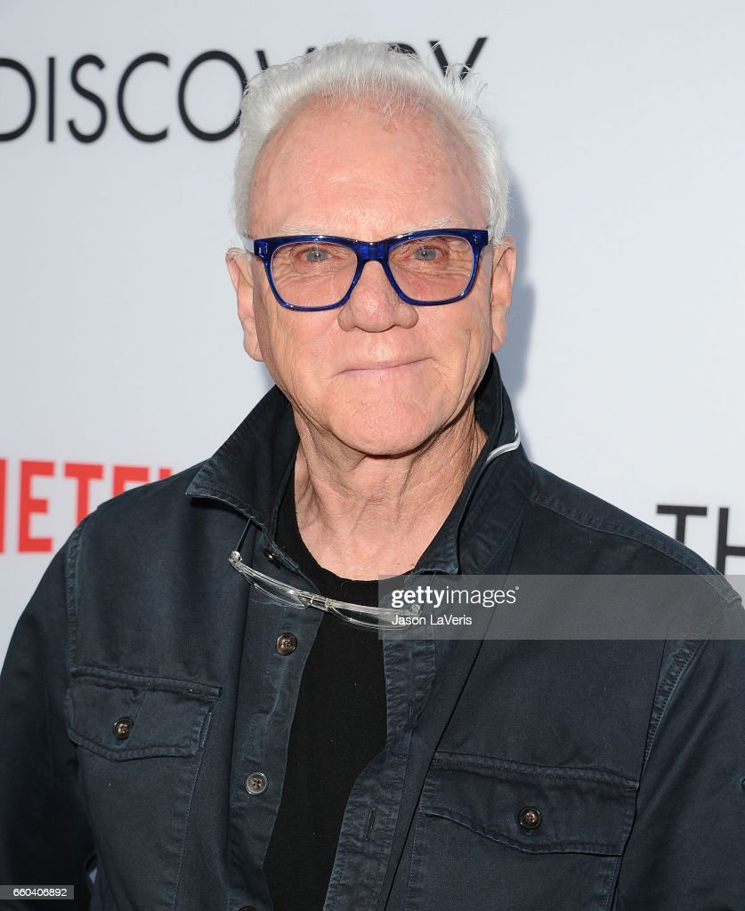 Actor Malcolm McDowell attends the premiere of 'The Discovery' at the Vista Theatre on March 29, 2017 in Los Angeles, California.