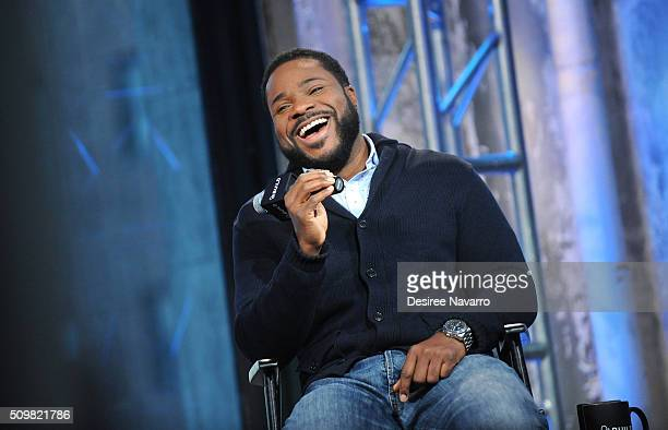 Actor MalcolmJamal Warner discusses his role as Al Cowlings in FX's 'American Crime Story The People vs OJ Simpson' during AOL Build Speaker Series...