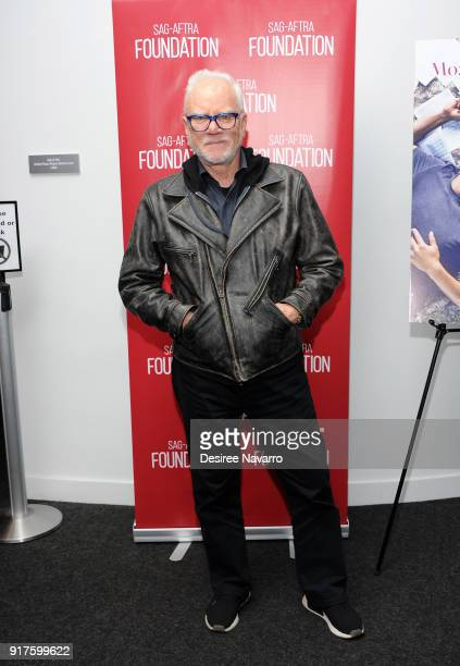 Actor Malcom McDowell attends SAGAFTRA Foundation Conversations 'Mozart In The Jungle' at The Robin Williams Center on February 12 2018 in New York...