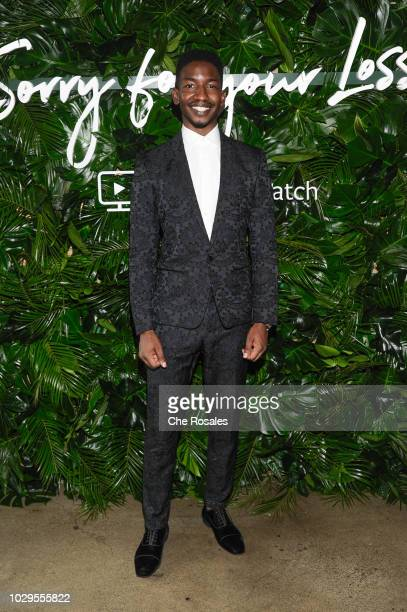 Actor Mamoudou Athie attends the Sorry For Your Loss Facebook Watch Premier Event at FIGO on September 8 2018 in Toronto Canada
