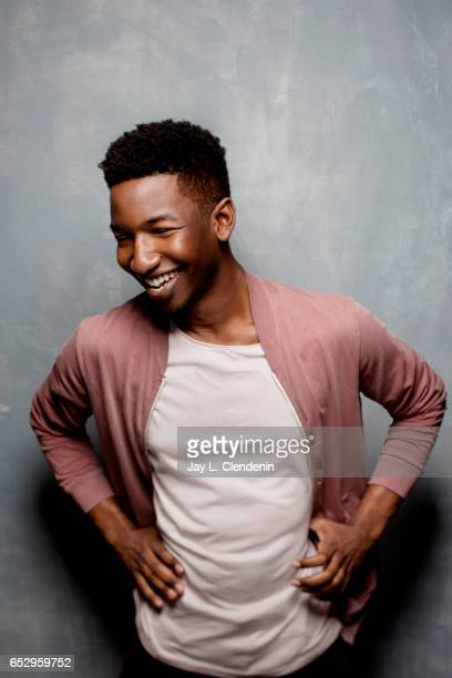 Actor Mamoudou Athie from the film Patti Cake$ is photographed at the 2017 Sundance Film Festival for Los Angeles Times on January 22 2017 in Park...
