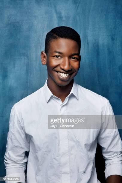 Actor Mamoudou Athie from the film 'Unicorn Store' poses for a portrait at the 2017 Toronto International Film Festival for Los Angeles Times on...