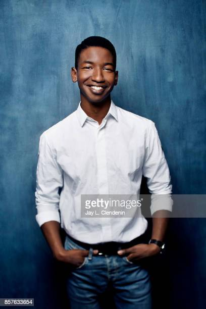 Actor Mamoudou Athie from the film Unicorn Store poses for a portrait at the 2017 Toronto International Film Festival for Los Angeles Times on...