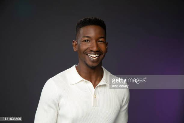 Actor Mamoudou Athie is photographed for Los Angeles Times on April 16 2019 in El Segundo California PUBLISHED IMAGE CREDIT MUST READ Kirk McKoy/Los...