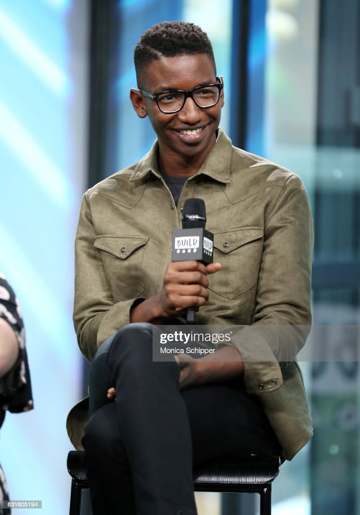 Actor Mamoudou Athie visits Build Series to discuss the movie 'Patti Cake$' at Build Studio on August 15, 2017 in New York City.