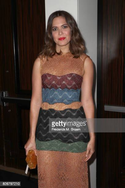 Actor Mandy Moore at the 33rd Annual Television Critics Association Awards during the 2017 Summer TCA Tour at The Beverly Hilton Hotel on August 5...
