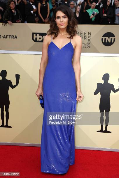 Actor Mandy Moore attends the 24th Annual Screen Actors Guild Awards at The Shrine Auditorium on January 21 2018 in Los Angeles California 27522_017
