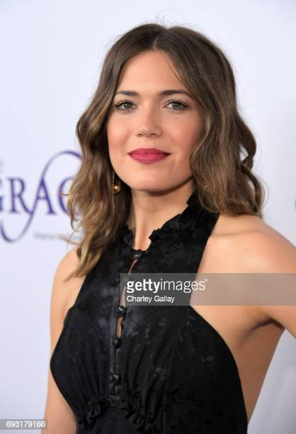 Actor Mandy Moore attends the 42nd Annual Gracie Awards Gala hosted by The Alliance for Women in Media at the Beverly Wilshire Hotel on June 6 2017...