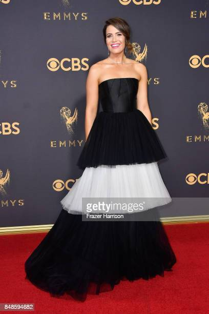 Actor Mandy Moore attends the 69th Annual Primetime Emmy Awards at Microsoft Theater on September 17, 2017 in Los Angeles, California.