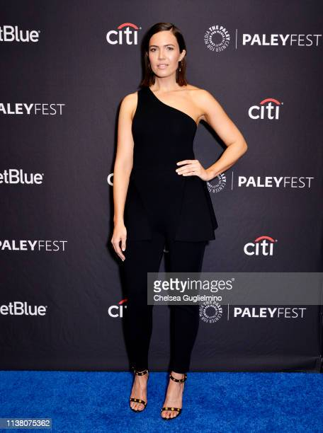 7c0bfb136f4d Actor Mandy Moore attends The Paley Center for Media s 2019 PaleyFest LA   This Is Us.