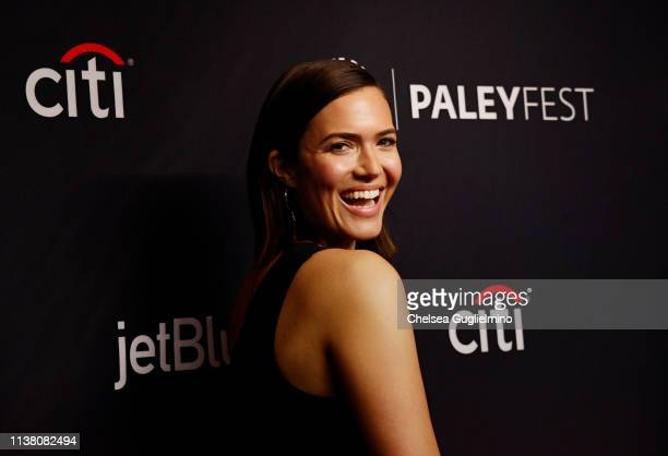 Actor Mandy Moore attends The Paley Center for Media's 2019 PaleyFest LA 'This Is Us' at Dolby Theatre on March 24 2019 in Hollywood California