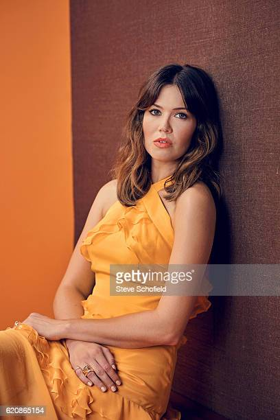 Actor Mandy Moore is photographed for Emmy magazine on September 18 2016 in Los Angeles California