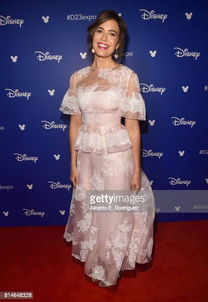 Actor Mandy Moore of RALPH BREAKS THE INTERNET WRECKIT RALPH 2 took part today in the Walt Disney Studios animation presentation at Disney's D23 EXPO...