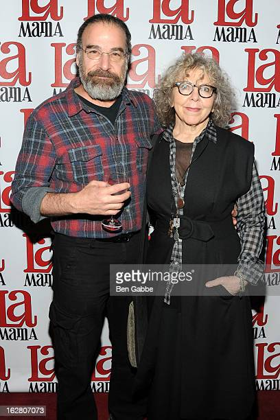 Actor Mandy Patinkin and his wife Kathryn Grody attend the La Mama Celebrates 51 Gala at Ellen Stewart Theatre on February 27 2013 in New York City