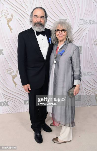 Actor Mandy Patinkin and Kathryn Grody attend FOX Broadcasting Company Twentieth Century Fox Television FX And National Geographic 69th Primetime...