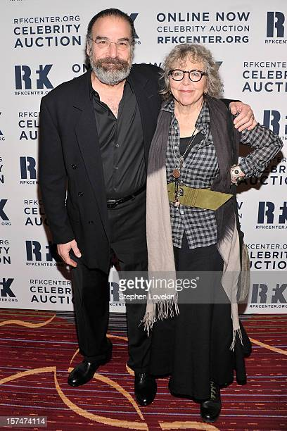 Actor Mandy Patinkin and Kathryn Grody attend the 2012 Ripple Of Hope Gala at The New York Marriott Marquis on December 3 2012 in New York City